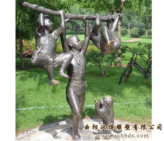 小孩雕塑,校园雕塑