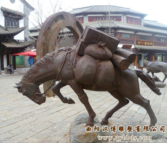 马托货物雕塑,动物马雕塑定做厂家