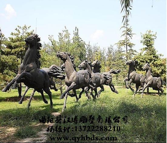 马雕塑,动物雕塑,曲阳雕塑-ds550_小品雕塑,人物雕塑