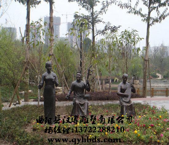 人物雕塑 小品雕塑     名称:人物雕塑    材质:玻璃钢树脂  铸铜