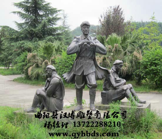 欧式商业街雕塑人物