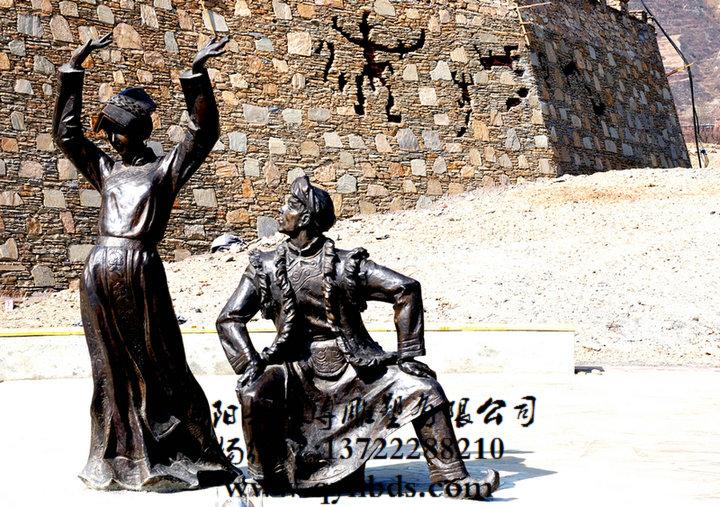 跳舞人物雕塑_小品雕塑_城市雕塑_雕塑_马雕塑_人物