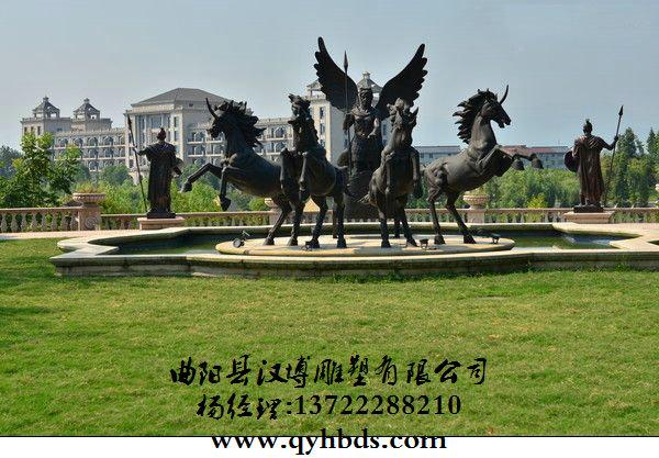 一、八骏马雕塑定做的含义请问哪里有八骏马雕塑摆放在广场上面多大合适 马在中华民族的文化位置极高,具有一系列的标志含义,自古以来马即是人类的兄弟同伴,与人类的发展休戚相关。正因如此,大家通过制造不相同形状的马雕塑来表达某种格外的含义,或许是寄予心中对某些事情美好成果的一个期许,所以石雕马的涵义更是不言而喻。请问哪里有八骏马雕塑摆放在广场上面多大合适 与马有关的成语就有非常多:身先士卒、一望无际、心猿意马、丰功伟绩、浮光掠影、门庭若市、金戈铁马、旗开得胜、山崖立马等等,每一个成语都有着不相同的故事背景和深刻涵